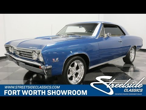Video of Classic '67 Chevelle Offered by Streetside Classics - Dallas / Fort Worth - Q46D