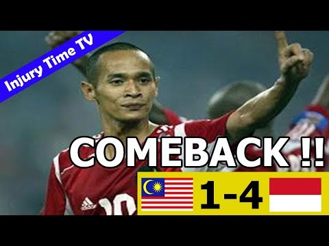 Malaysia 1-4 Indonesia | All Goals & Highlights | Tiger Cup 2004