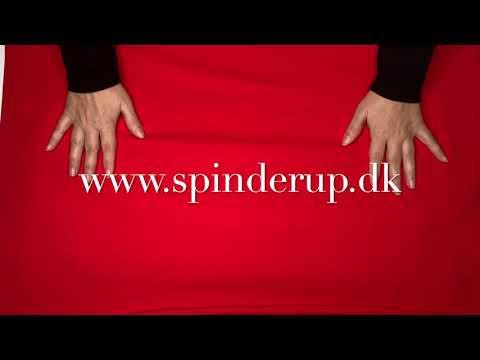 Se produktvideoen til Ensfarvet bomuldsjersey - rød på YouTube