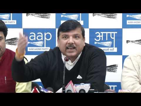 AAP Rajya Sabha Member Sanjay Singh Briefs on Mandir Demolition In Kashi