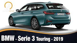 BMW Serie 3 Touring 2019 | Primeras Imágenes e Información