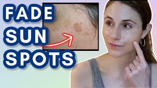 How to FADE SUN SPOTS| Dr Dray