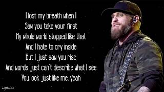 Brantley Gilbert   Man That Hung The Moon (Lyrics) 🎵