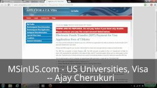 US Visa Appointment: Visa Date Booking, Visa Fee Payment