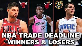 2021 NBA Trade Deadline Recap   Winners & Losers