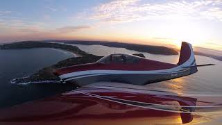 RV Aircraft Video - Smoke and Mirrors - Vans RV-7A - Sydney, Australia