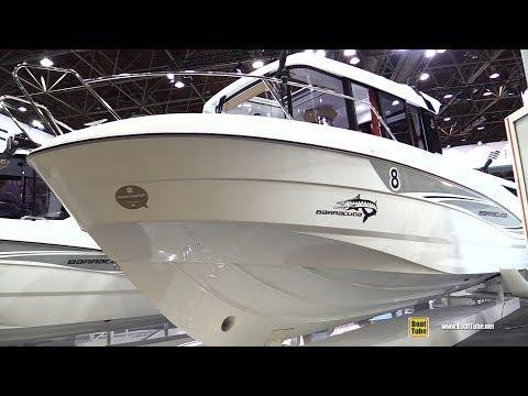 2018 Beneteau Barracuda 8 Fishing Boat – Walkaround – 2018 Boot Dusseldorf Boat Show