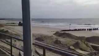 preview picture of video 'Rockaway Beach New York - iReporter - Hurricane Sandy - 2'