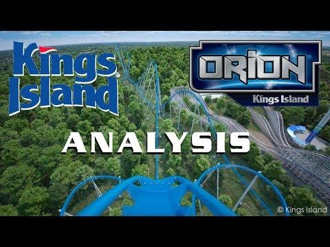 Orion Analysis Kings Island New for 2020 Giga Coaster