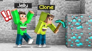 I CLONED MYSELF And He TROLLED ME! (Minecraft)