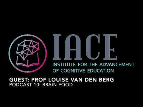 Powerful Podcast 10: Prof Louise van den Berg (Brain food: Nutrition that enhances cognition)