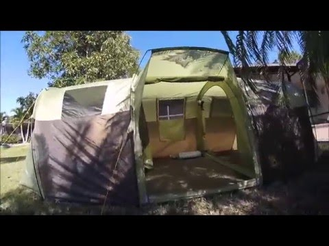 Slumberjack Overland 10 camping tent review