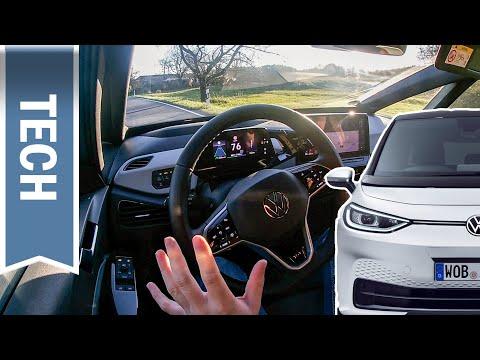 Travel Assist & Assistenzsysteme im VW ID.3 im Test: Teilautonomes Fahren auf Autobahn & Landstraße