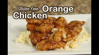 Gluten Free Orange Chicken Recipe | Its All About The Sauce | Rockin Robin Cooks