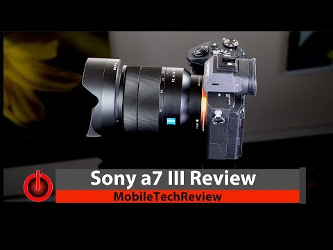 Sony a7 III Full Frame Camera Review – It's that Good!