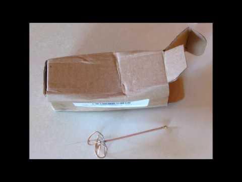 DAMAGED! 2.5dBi-3dBi 4-Leaf Clover Antenna from BANGGOOD