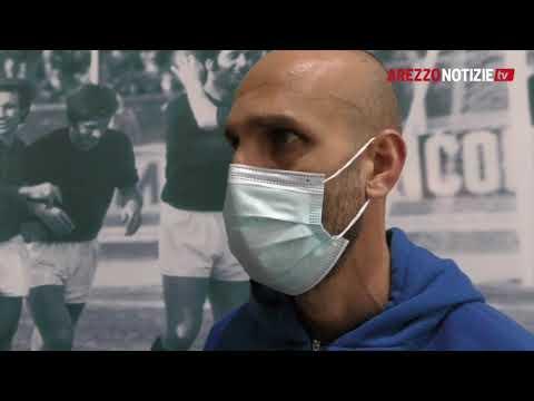 Arezzo-Mantova 1-1, intervista a mr Troise