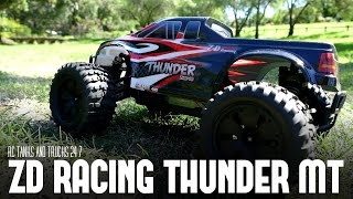 ZD Racing Thunder ZMT-10 4WD Brushless Monster Truck - Review