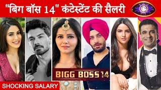 Shocking Salary Of Bigg Boss 14 Contestants
