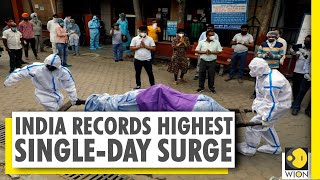 COVID-19: India records 45,000+ cases, 1,129 deaths in last 24 hours | World News - Download this Video in MP3, M4A, WEBM, MP4, 3GP