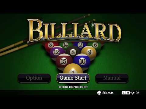 Pool BILLIARD Trailer - Nintendo Switch thumbnail