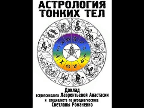 Астрология тонких тел. Планеты, знаки зодиака и чакры