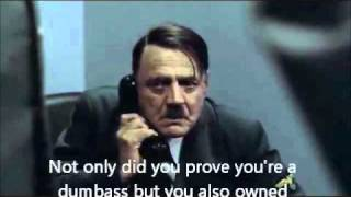 Hitler is going to confess