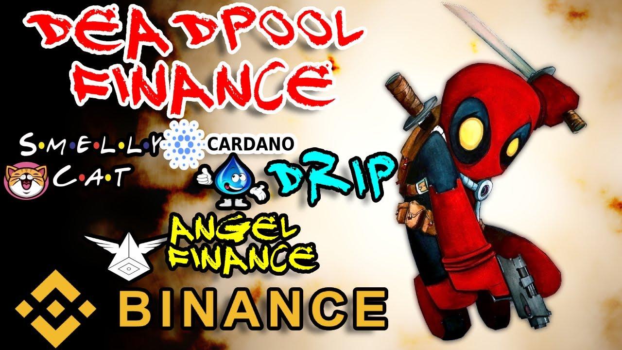ANGEL FINANCING GOVERNANCE TOKEN|DEADPOOL FINANCING NEW FARM BSC SMELLYCAT MATIC POLYGON CARDANO NEWS thumbnail