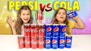 Don't Choose the Wrong COCA COLA or PEPSI SLIME Challenge!! | JKrew