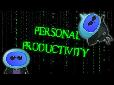 Personal Productivity | eLearning Course - YouTube