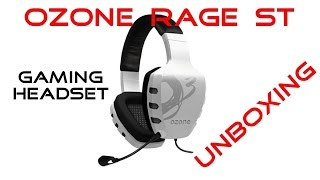 Ozone Rage ST Gaming Headset Unboxing & Mic Test [Deutsch]