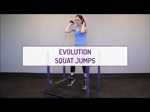 Evolution Squat Jumps