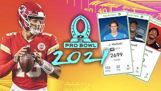 2021 NFL Pro Bowl Voting Ballot