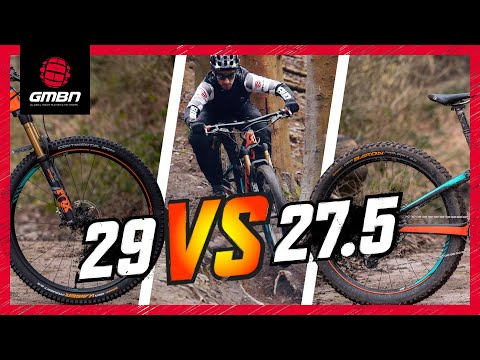 "27.5"" Vs 29"" Mountain Bike Wheels 