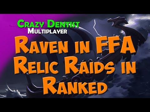 Northgard Raven clan in FFA | Relic Raids in Ranked