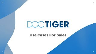 Use Cases For Sales