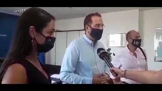 Συνάντηση Ν. Φαρμάκη με Υφυπουργό Εργασίας Δόμνα Μιχαηλίδου