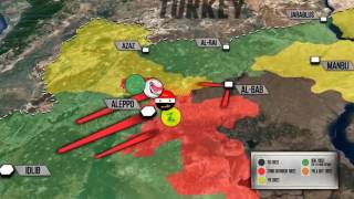 7 декабря 2016. Военная обстановка в Сирии. Боевики в Алеппо готовы сдаваться. Русский пер
