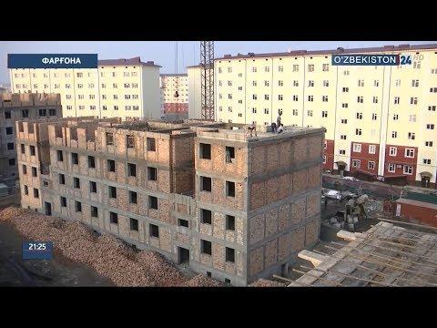 Фарғона шаҳрида эски уйлар реновация тадбирлари