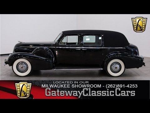 Video of Classic 1939 Cadillac 7 Passenger Touring W/ Trunk located in Kenosha Wisconsin - KHP0