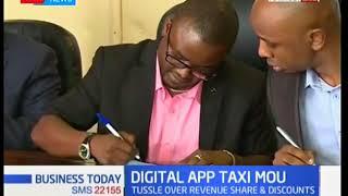 Digital taxi companies, taxi driver sign a memorandum of understanding