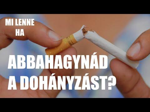 Hagyja abba a cigaretta dohányzását