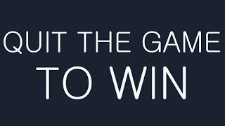 Download Video QUIT THE GAME TO WIN MP3 3GP MP4