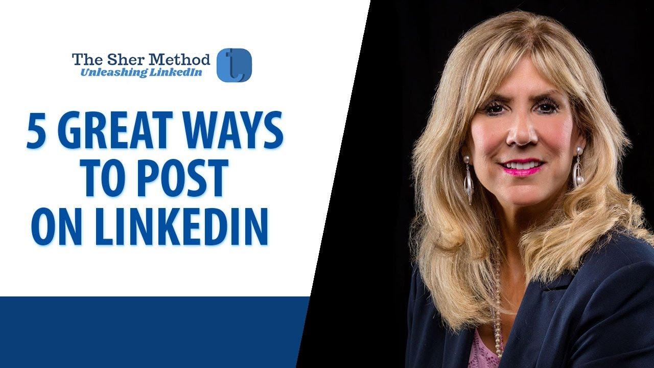 Q: What Should You Post on LinkedIn?