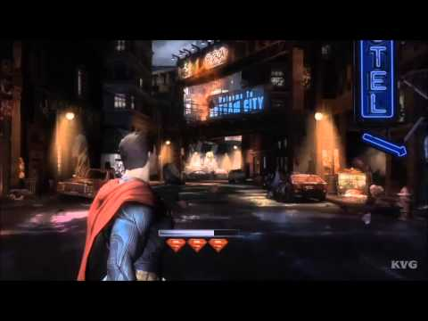 Injustice: Gods Among Us - Superman VS Black Adam (Story Battle 46) [HD]