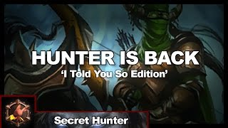Hunter Is Back: 'I Told You So' Edition