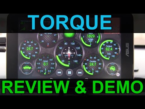 Android Car Tablet Guide: Torque App and Widgets Review and Demo