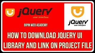 jQUERY UI Tutorial in Hindi | How to download jquery ui  library and link on project file