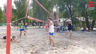 Пляжный волейбол. Лучшие моменты. Турнир в Липецке. 2018 г.