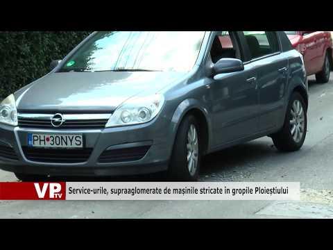 Service-urile, supraaglomerate de mașinile stricate în gropile Ploieștiului